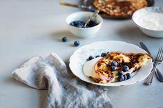 Herkulliset banaaniletut   Anna.fi Camembert Cheese, Diabetes, Pancakes, French Toast, Snacks, Breakfast, Ethnic Recipes, Desserts, Food