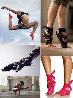 Nike.Feet.Wraps.Dance.Comfort.Bare.Feet.Style