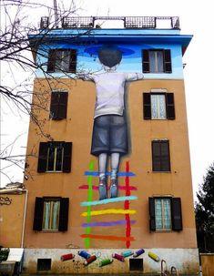 Julien Malland, Peintre-de-rue-3