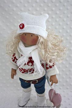 """текстильная кукла """"Ashley"""" - текстильная кукла,текстильная игрушка,интерьерная кукла"""