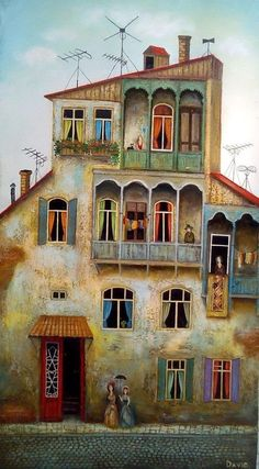 Inspiring Paintings / David Martiashvili, via http://amsterdam-artgallery.com