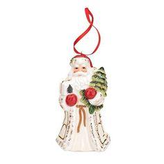 Spode Christmas Tree Ornament, Santa
