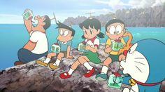 Doraemon The Movie 2013 : Nobita no Himitsu Dogu no Museum (c)Fujiko.F.Fujio  Its party time