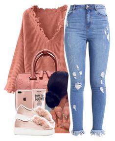 """""""Casual"""" by monimassacre ❤ liked on Polyvore featuring MCM, Belkin, NYX and Steve Madden"""