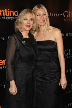 Blythe Danner and Gwyneth Paltrow | 10 Celebrity Moms Whose Kids May Secretly Be Their Twin