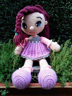 FLUFFY WORLD Amigurumi https://www.facebook.com/fluffyworldamigurumis/ Muñeca Askina Amigurumi, doll, crochet, ganchillo.