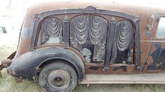 1935 Carved Panel Hearse It may be a hearse, but Dang! That's a HOT car I'd like to have and restore.