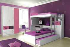 WOW gorgeous room for a teen. LOVE!