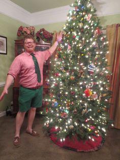 "25 Days of Donning My Gay Apparel  Day 6   (Getting my ""ELF"" on)  Christmas/Holiday Festive menswear"