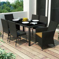 Sonax Park Terrace 7 Piece Dining Set