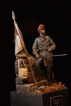 Confederate Artillery Officer