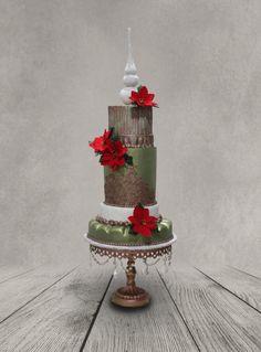 Christmas Cake by MsTreatz