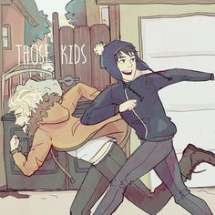 Those Kids by peppernote on DeviantArt