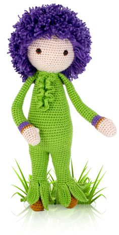Giant Onion Otto - crochet amigurumi pattern by Zabbez / Bas den Braver