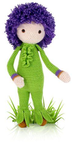 Giant Onion Otto « Zabbez – crochet amigurumi flower dolls