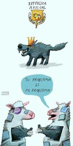 """Cresta Metálica Producciones » """"Tu problema es mi problema"""" así se expresa República Musical"""