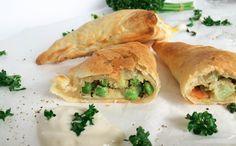 Gemüsedreiecke - frühlingshaftes schnelles Rezept für die ganze Familie!