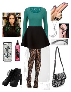 """""""jade west inspired outfit"""" by kayleeeezz ❤ I'm not really loving the eyebrow piercing, but everything else, i'd love."""