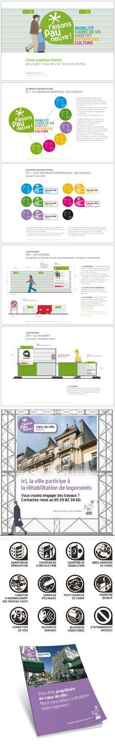 """Ville de Pau : Charte chantiers """"Faisons Pau Neuve"""" © Sous Tous les Angles"""
