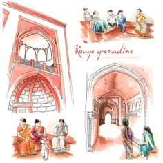 Design by siana design creations Taj Mahal, Princess Zelda, Illustrations, Fictional Characters, Design, Art, Colors, Art Background, Illustration