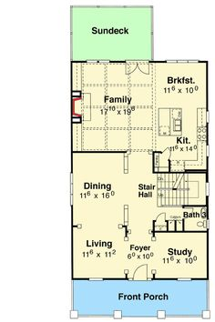 Bungalow with Drive Under Garage - 92016VS | Bungalow, Cottage, Craftsman, Traditional, Photo Gallery, 2nd Floor Master Suite, Bonus Room, Butler Walk-in Pantry, Den-Office-Library-Study, Jack & Jill Bath, MBR Sitting Area, PDF, Corner Lot, Sloping Lot | Architectural Designs