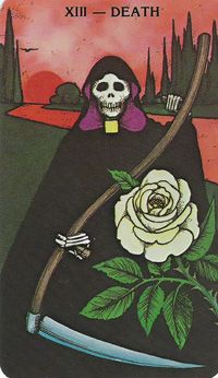 Based on the structure of the Rider-Waite Tarot, this uniquely expressive deck features magical imagery presented in deep, saturated colors. The borderless deck allows the details of tarot … Zine, Tarot Death, Rider Waite Tarot, Art Carte, Tarot Major Arcana, Tarot Card Meanings, Mystique, Oracle Cards, Grim Reaper