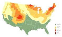 This Fall Foliage Map Predicts When Your Area's Leaves Will Change Color