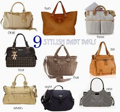 V I Bag 9 Stylish Baby Bags That Every Mama Wants To Be Seen With