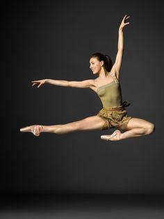 Tiler Peck of the New York City Ballet
