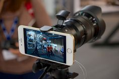 Sony QX1 - Riga photo show 2014