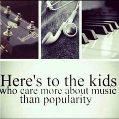 i wouldn't be able to live without music