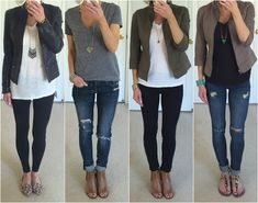 I originally wrote this post at the end of June when I was preparing to go out of town for the of July weekend. I scheduled it to post . Oufits Casual, Casual Outfits, Cute Outfits, Fashion Outfits, Womens Fashion, Boot Outfits, Fashion Capsule, Fashion Clothes, Fashion Tips
