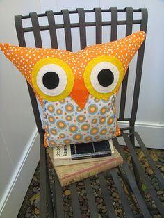 Owl pillow :-)