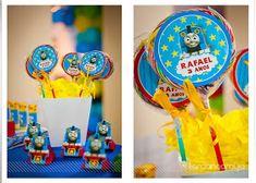 Fiesta Temática de Tren Thomas : Fiestas Infantiles Decoracion