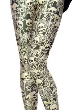 Funny Bones Leggings - LIMITED - Black Milk