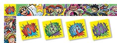 Great teaching site to buy superhero classroom items...