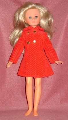 Vintage Blonde Corinne Doll 12.5+6.3