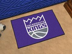 "Sacramento Kings Starter Rug 19"" x 30"""