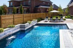 Stunning pool by AquaSpa Pools & Landscape Design | Via HomeStars.