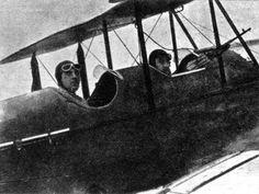 Avião usado pelos Constitucionalistas em 1932.