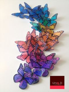 27 LARGE monarch butterflies  FREE SHIPPING wedding by uniqdots, $22.00