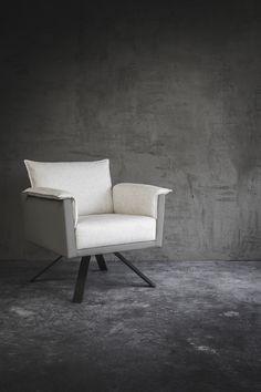DON armchair ontworpen door Bertram Beerbaum voor Grey7.