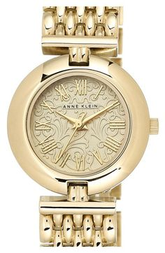 Anne Klein Round Bracelet Watch, 27mm available at #Nordstrom