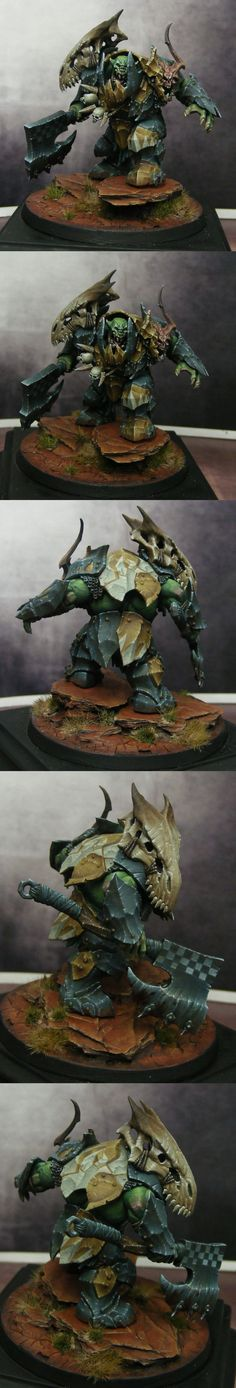 The Internet's largest gallery of painted miniatures, with a large repository of how-to articles on miniature painting Figurine Warhammer, Warhammer 40k Miniatures, Warhammer Models, Warhammer Fantasy, Minis, Tyranids, Mini Paintings, Warhammer 40000, Love Painting
