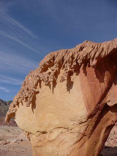 Mushroom Stone, Sinai