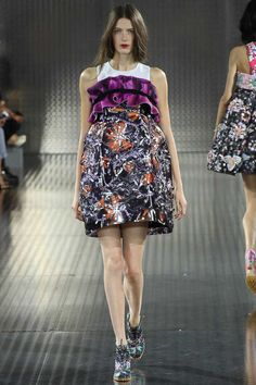 Mary Katrantzou Spring 2014 Ready-to-Wear Collection Slideshow on Style.com #londonFW #londonfashion