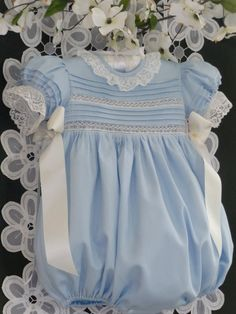 Handmade Baby Girl Heirloom Bubble  3 Months by justforbabyonetsy, $120.00