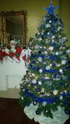 Perfect Dallas Cowboys Christmas Tree   My Family And I Take The Cowboys Very  Seriously! Believe