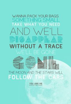 Yes, so true! ❤  You and Me together, we can do anything.. Love this song by DMB.