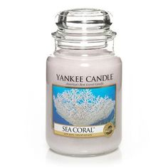 Sea Coral Large Jar Candle - Yankee Candle